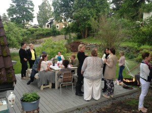 Sommerfest hos Valen-Utvik